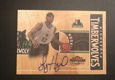 Lazar Hayward Rookke 2010 Panini Threads Autograph 167/399 #29 Timberwolves