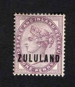 South Africa Zululand 1888-93 stamp SG#2 MH CV=38,50$
