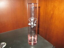 """Bud Vase - 7-1/2""""Tall with an Etched Lady Golfer"""