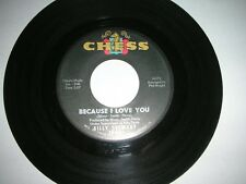 BILLY STEWART - BECAUSE I LOVE YOU / MOUNTAIN OF LOVE..U.S CHESS