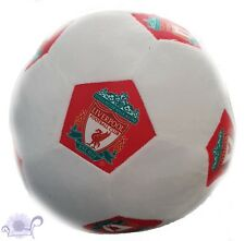 Liverpool Plush Soccer Ball Soft Cushion | 22 cm Round Filled | Liverpool Logo