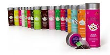 English Tea Shop Biologique Silken Pyramide intercalaires élégant Cylindre Tins-...