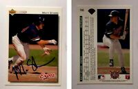 Matt Stairs Signed 1992 Upper Deck #786 Card Montreal Expos Auto Autograph
