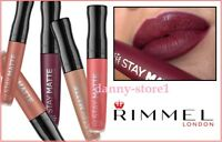 Rimmel Stay Matte Liquid  Lipstick  Colour 5.5ml Different Shades