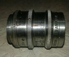 Bausch lomb 26mm f1.9 Animar Balcote  lens c mount 16mm + keystone k56 video cam