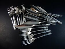 Set 24 Silver Plate Fish Set Hamilton Laidlaw & Co HL & Co 12 Each Forks Knives
