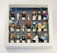 Display Frame for Lego Harry Potter series 1 Fantastic Beasts Minifigures 25cm