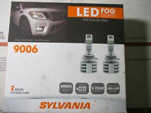 SYLVANIA 9006 LED Fog Lights - 2 Bulbs