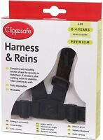 Clippasafe PREMIUM HARNESS & REINS Child Harness BN