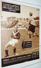 MIROIR SPRINT N°176 1949 FOOTBALL BORDEAUX-RACING CYCLISME PAILLARD BOXE RUGBY