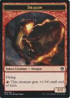 4x Dragon Token (005) - M-NM - Iconic Masters - SPARROW MAGIC - mtg