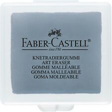 Faber-Castell Kneadable Grey Eraser For Pencil, Charcoal & pastel work 127220