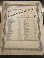 Flowers And Blossoms Sheet Music