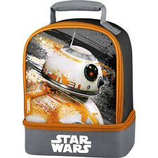 STAR WARS BB-8 BB8 Thermos® Lead-Safe Dual Compartment Insulated Lunch Tote Box