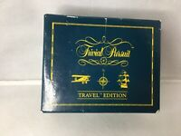 Rare Vintage Trivial Pursuit Travel Spinners Scorers Edition Complete
