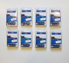 "800 AVERY DENNISON BLUE ""HELLO MY NAME IS"" NAME TAGS LABELS BADGES PEEL STICKERS"