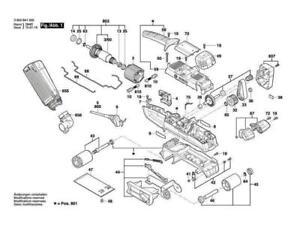 BOSCH PBS 75 AE Bandschleifer original Bosch Ersatzteile