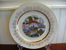 Vintage China Quebec Canada Plate Lauren China Ware Toronto