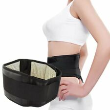 Magnetic Self-Heating Lower Back Lumbar Waist Pad Belt Support Protector SH
