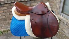 "17"" Pessoa Rodrigo-  close contact, jumping  saddle - med tree - Long flap"