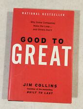 Good To Great By National Bestseller Jim Collins Hardcover With Dust Jacket