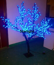 5ft LED Cherry Blossom Tree Outdoor Blue Tree Wedding Christmas Party 432 LEDs