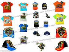 Boys' Graphic 100% Cotton Short Sleeve Sleeve T-Shirts & Tops (2-16 Years)