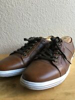 Kenneth Cole Reaction  Sneakers Brawn Casual Shoes Size 10 No Box Pre-Owned
