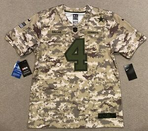 Nike Dallas Cowboys Salute To Service Dak Prescott Jersey Youth XL MSRP $100