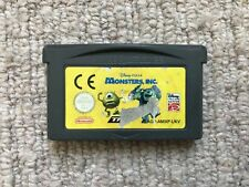 Monsters Inc - Cart Only Game Boy Advance GBA (B)