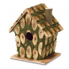 Birdhouse, Outdoor Wooden Birdhouses Build Form Plywood Wood And Eucalyptus