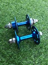 Used suzue hubs 36H Front & Rear Blue old school BMX SE Redline PK gt haro hutch