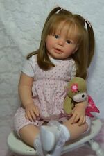 CUSTOM ORDER- Reborn Doll Baby Girl Toddler Katie Marie by Ann Timmerman