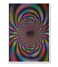 MAGNETIC FANTASY - BLACKLIGHT POSTER - 23x35 FLOCKED 1908