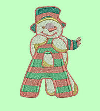 ABC SNOWMEN - 26 MACHINE EMBROIDERY DESIGNS