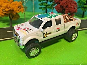 Ford, F350, Ertl, 1/64 Custom Listed, Dually DCP,  CB Antenna, Firewood Camping