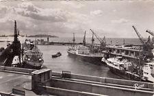 MARSEILLE 1126 quai de la joliette embarcadère timbrée 1953