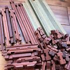 Halsam American Log Lincoln Log With A Groove Vintage Set 38 Pieces Vintage