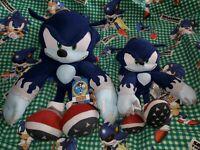 "NEW 20"" Great Eastern GE Sonic Hedgehog Werehog Licensed Plush Large Big toy"