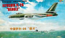 Trumpeter 1/72: Ilyushin Il-28