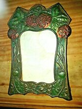 1 arts and crafts period photo frames and 2 art nouveau