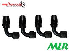 AEROQUIP UN -8jic 90 GRADI Radiatore olio TELECOMANDO Filtro raccordo tubi