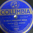 "10"" 78 RPM-Naval Reserve Band-Invercargill/De Molay Commandery March/A2612"