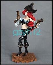 "LOL LEAGUE OF LEGENDS THE BOUNTY HUNTER MISS FORTUNE 12"" FIGURE PVC FIGURINE NIB"