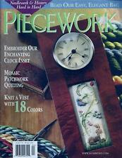Piecework Magazine Back Issue March/April 2003 Embroidery,Knitting,Cross Stitch