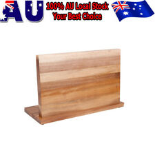 Bamboo Stand Magnetic Knife Cutlery Holder Storage Rack Block for Kitchen Tool