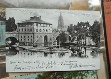 Frankierte Echtfotos aus Hessen mit dem Thema Brücke