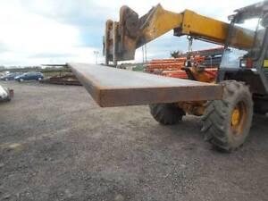 New steel flat bar 200mm x 25mm x 6 meter length metal