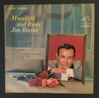 """Jim Reeves """"Moonlight and Roses"""" LP. Classic Country!"""