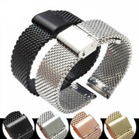 Stainless Steel Watch Strap Band for Milanese 12/13/14/16/17/18/19mm 20mm 22mm